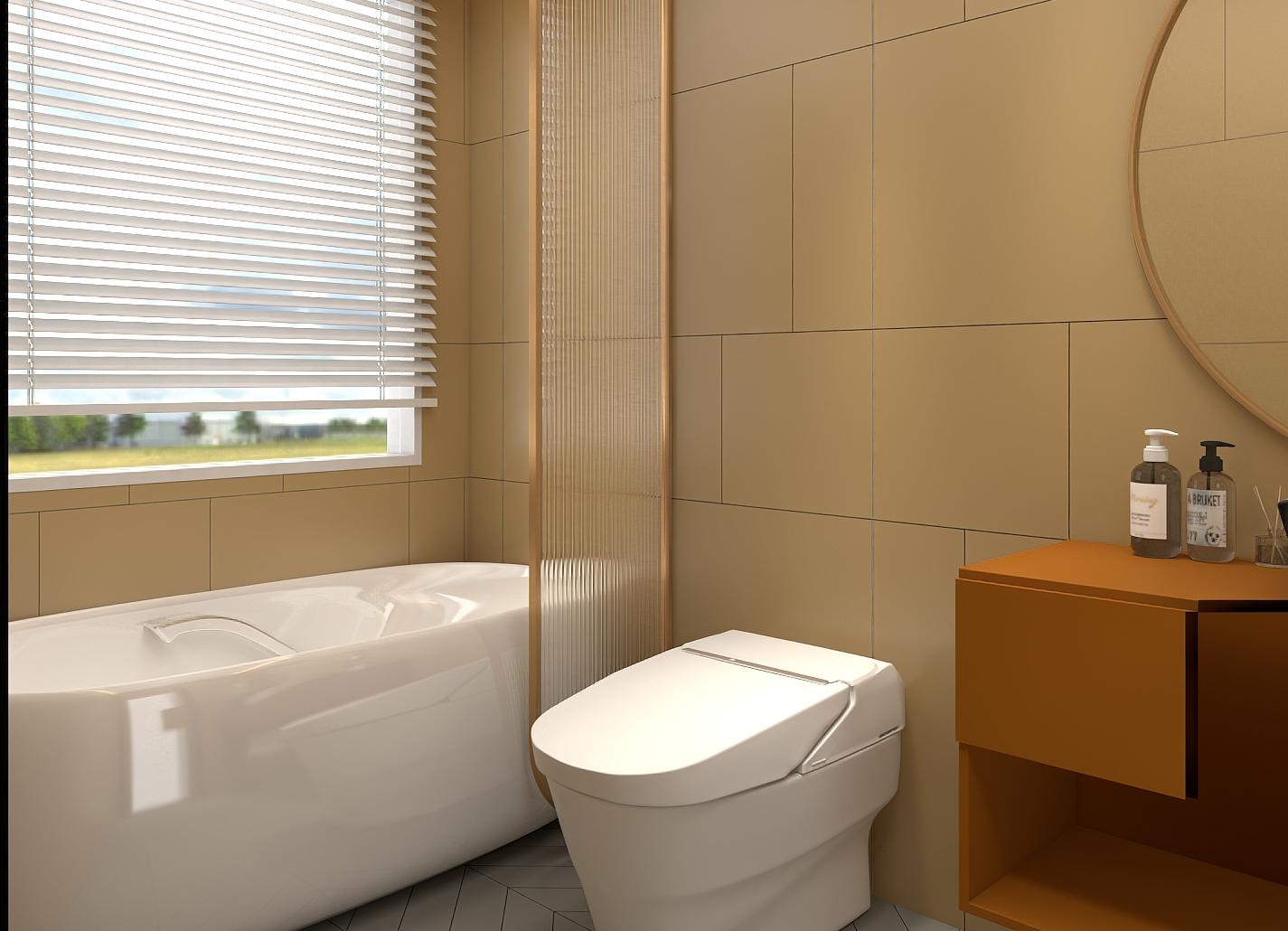 全自动坐便器PJY1744独立浴缸---秋芒