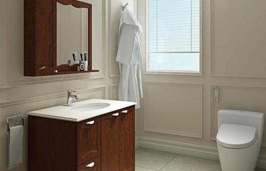 浴室柜-古典雅致