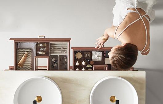 女神的魔镜浴室柜