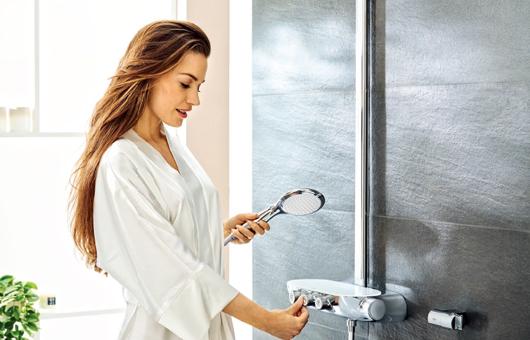 高仪瑞雨®系列智能控制3D淋浴系统