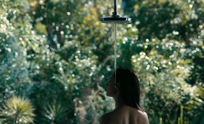 温暖水柱淋浴技术